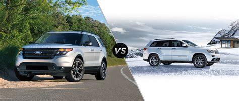 ford explorer vs jeep jeep vs explorer autos post
