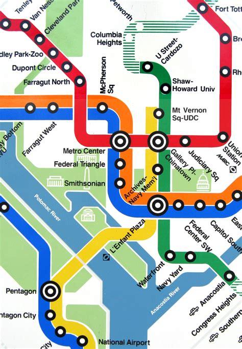 washington dc metro map national mall dc metro maps