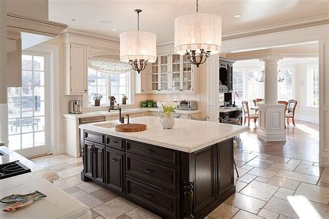Black Cabinets Kitchen by How To Choose The Right Kitchen Floor Zillow Porchlight