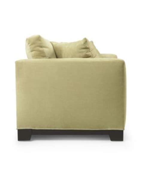 Elliot Microfiber Sofa by Elliot Fabric Microfiber Sofa Furniture Macy S