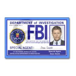 fbi spn commissioned credentials