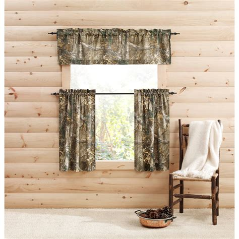 camo sheer curtains set of 2 realtree xtra camo curtain panels tiers sets
