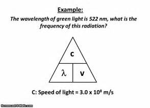 wavelength frequency equation