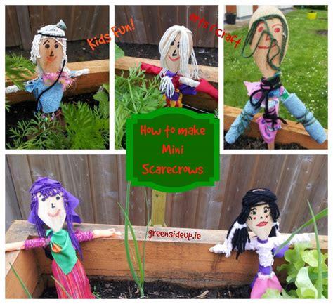 how to make a mini how to make mini scarecrowsgreenside up