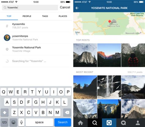 How To Search For On Instagram Instagram Offers New Explore Page Search Options