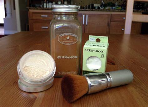 Handmade Mineral Makeup - diy finishing powder by vegan review