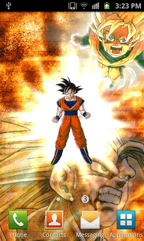 dragon ball super saiyan android live wallpaper apk free dragonballz live wallpaper apk download for android