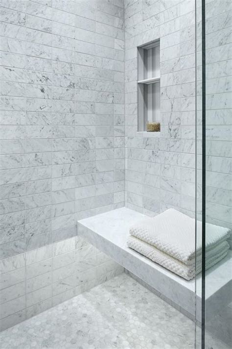 carerra marble custom steam shower master bath pinterest carrera marble floating shower bench with custom lighting