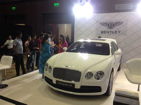 bentley hyderabad bentley exhibits flying spur v8 with t3 entertainment at