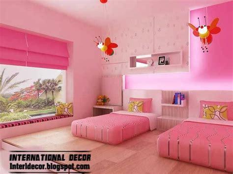 Pink girls bedroom ideas 2014 modern girls room pink