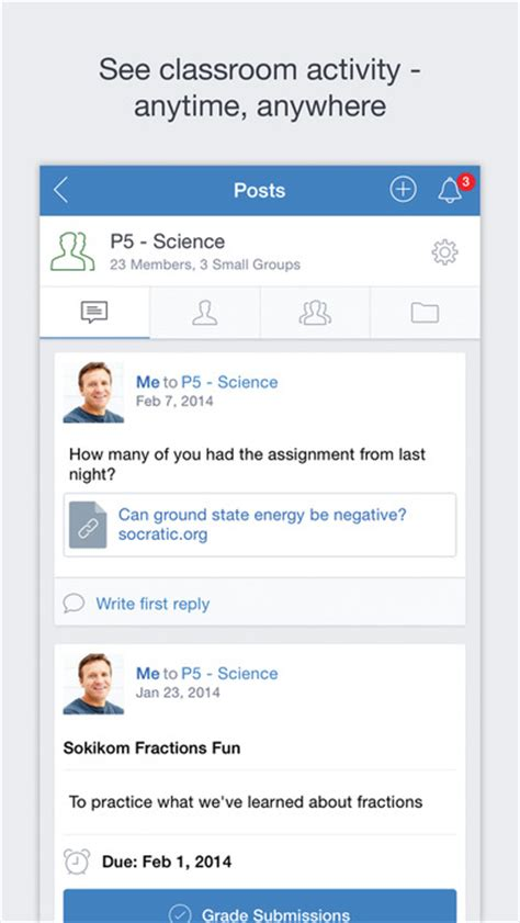 edmodo question of the day edmodo on the app store