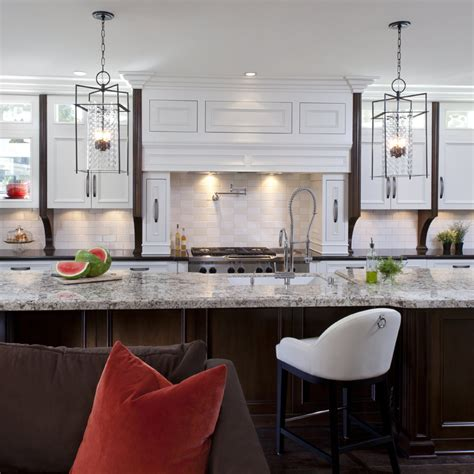 stylish transitional family room robeson design san stylish transitional kitchen before after robeson design