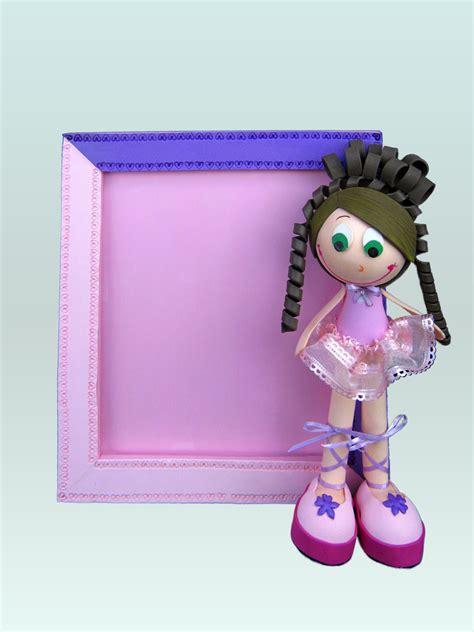 bailarina archivos manualidades con foamy terearte portarretrato decorado con foamy y una graciosa