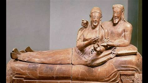 Sarcophagus Of Reclining by Artid111 Etruscan