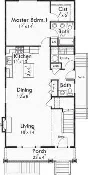 Narrow Apartment Floor Plans Best 25 Narrow Lot House Plans Ideas On
