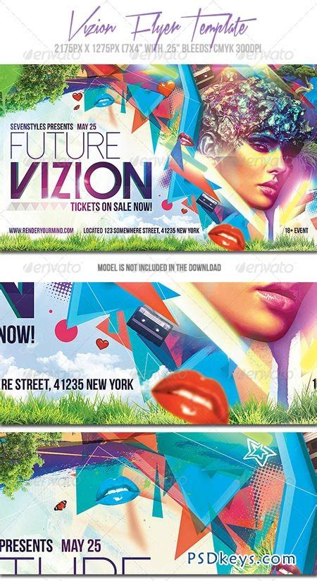 Vizion Flyer Template 7143474 187 Free Download Photoshop Vector Stock Image Via Torrent Flyer Template Rar