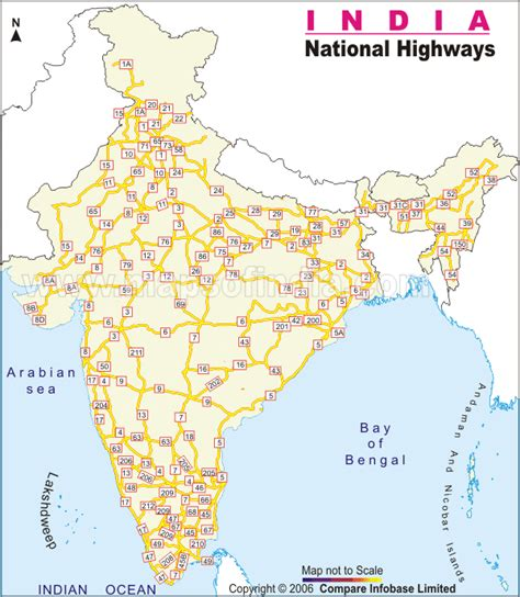 printable road map of india india national highway map india thematic maps