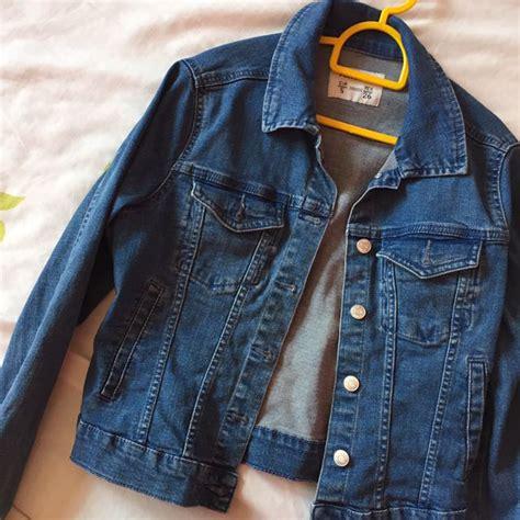 Jaket Denim Pull And Pull Denim Jacket S Fashion Clothes