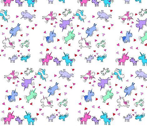 wallpaper unicorn cartoon cartoon unicorns wallpaper electricfoxfabrics spoonflower