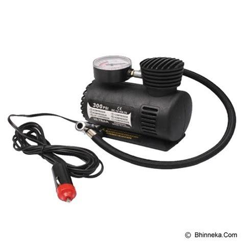 Mini Compresor Air Untuk Mobil Dan Motor jual universal mini air compressor 12v 300 psi ban mobil motor mts000028 murah bhinneka