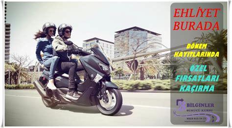 ve  sinifi motorsiklet ehliyeti egitimleri bi