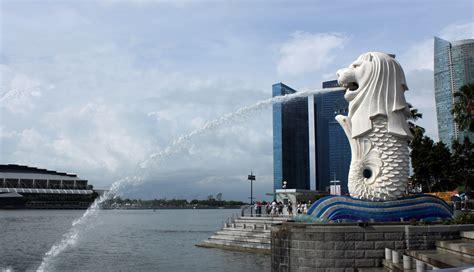Pajangan Merlion Singapore merlion park singapore free stock photo domain pictures