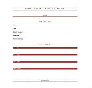 Presentation Schedule Template by Schedule Template 12 Free Word Excel Pdf