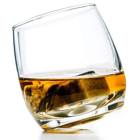 whiskey glass rocking whiskey glasses sagaform glassware pack of 6