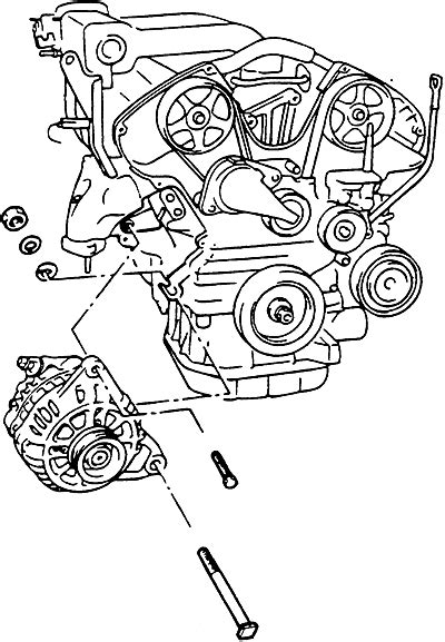 How do I change the alternator on a 2003 sonata? What are