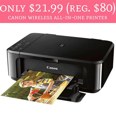 Printer Canon All In One Terbaru Only 21 99 Regular 80 Canon Wireless All In One Printer Deal