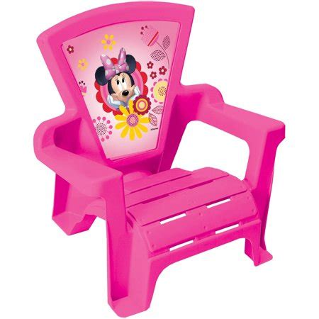 Toddler Plastic Chair - only minnie d and d adirondack chair walmart