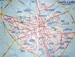 santa clara map california where is santa clara cuba on the map
