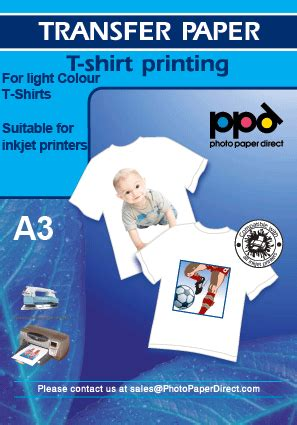canon inkjet iron on transfer paper a3 t shirt transfer paper x 100 iron on free p p ebay