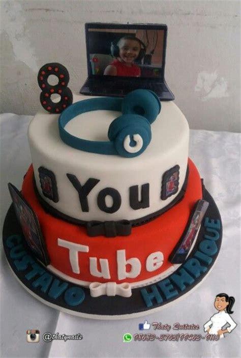 youtube de bolos decorados bolo do youtube youtube cake bolos cakes pinterest