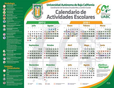 Calendario Escolar Uabc 2015 2 Uabc Vicerrector 237 A Ensenada
