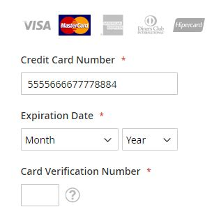 Magento Get Credit Card Number Template how is the current card s network detected for the bank