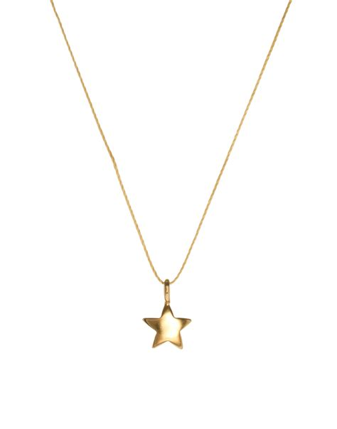 Dogeareds Make A Wish Necklaces by Lyst Dogeared Gold Plated Make A Wish Rising
