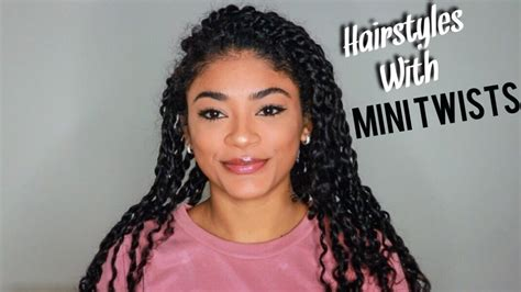 Mini Twist Hairstyles by Hairstyles W Mini Twists Hair Jasmeannnn