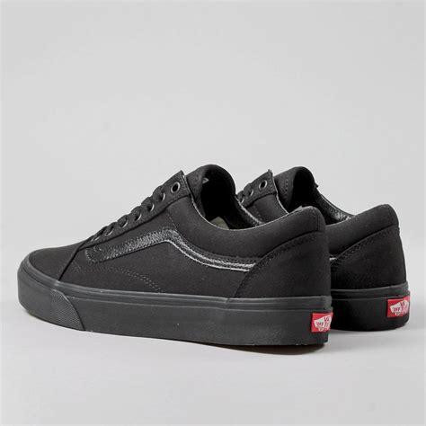 Vans Oldskool Mono Vintage Black vans skool shoes black black industry
