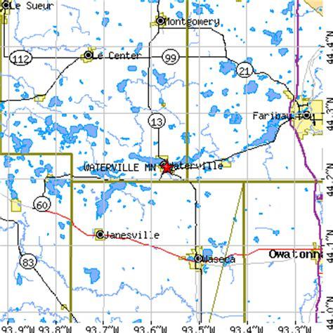 us area code 884 waterville minnesota mn population data races