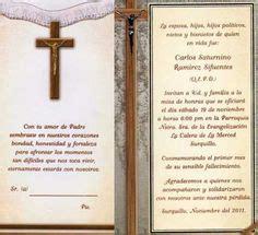 modelo como invitar a misa de los difuntos como hacer tarjetas de invitacion a misa de difuntos