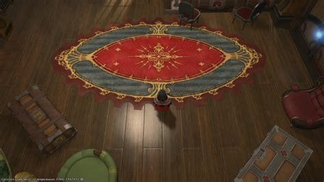 carbuncle rug ffxiv eorzea database riviera oval rug xiv the