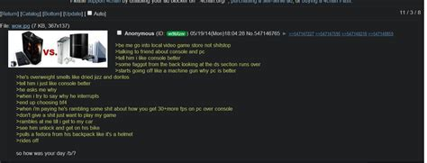 creatine 4chan anon buys a console i imgur