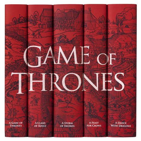 Of Thrones Complete Book Set Juniper Books