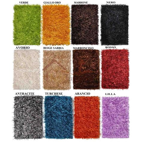 tappeti shaggy shaggy tappeto cm 140x200 tuttitappetini