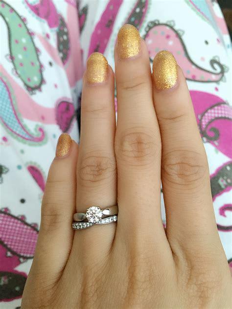 Tiffani Set Tifani let me see rings