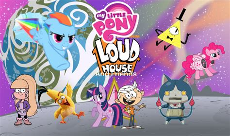 my little pony house my little pony mission loud house poster by cartoonmaster01 on deviantart