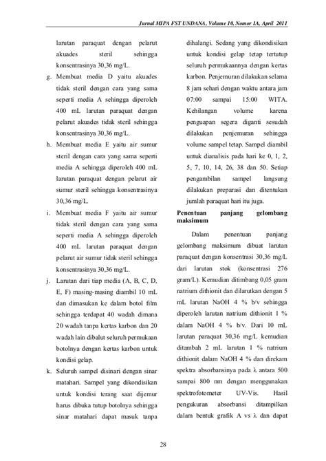 jurnal membuat larutan volume 10 nomor 1 a april 2011