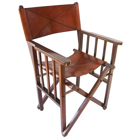 Leather Directors Chair by Leather Director S Chair Temple Webster