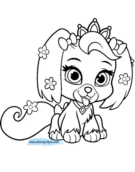 coloring book pages palace pets coloring pages 4 disney coloring book